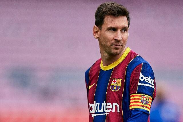 Lionel Messi, en el Fútbol Club Barcelona