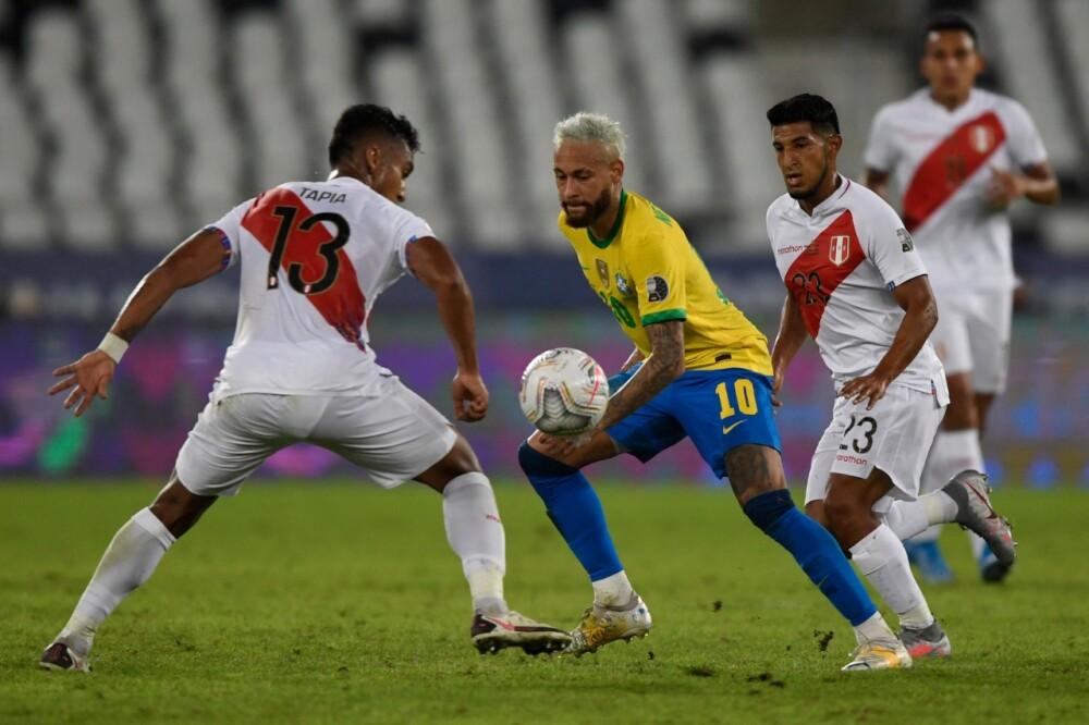 Brasil vs Perú