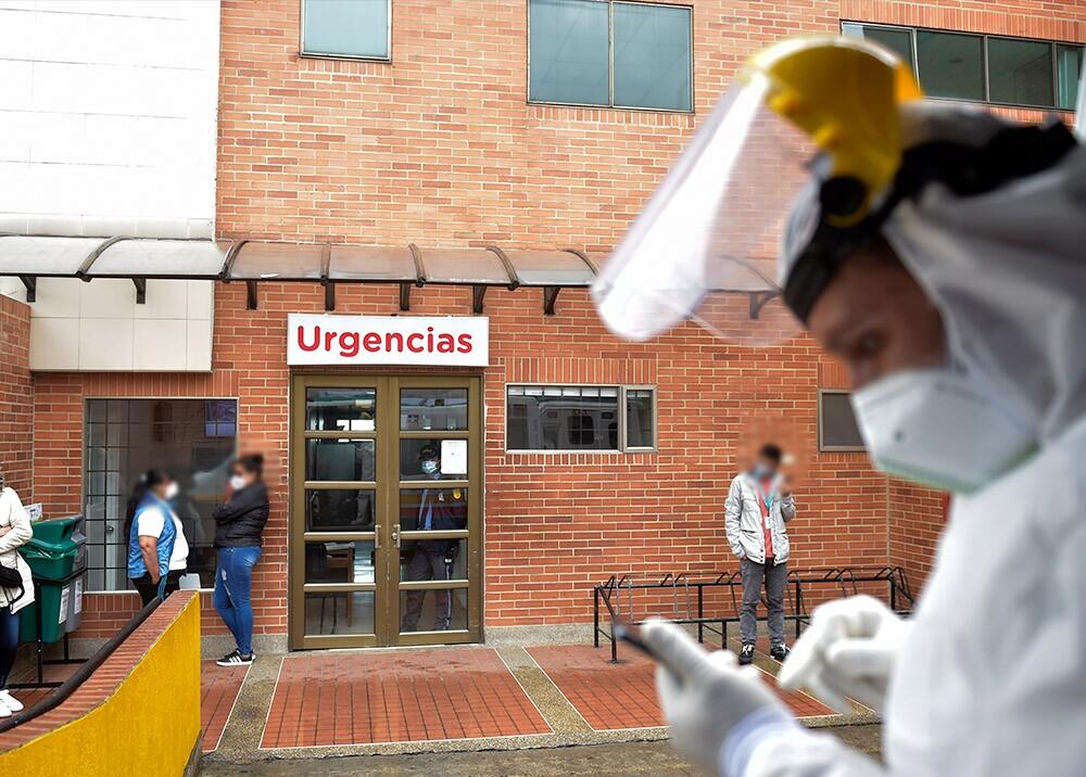 371149_Pandemia del COVID-19 en Colombia // Foto: AFP, imagen de referencia