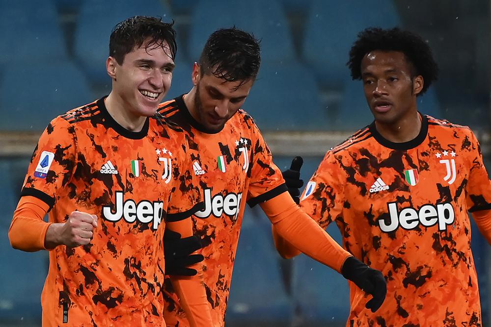 Jugadores de la Juventus. AFP.png