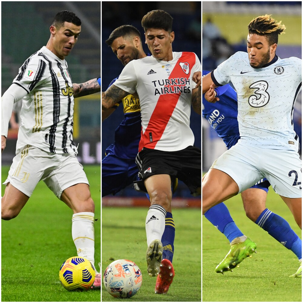 Juventus, River y Chelsea