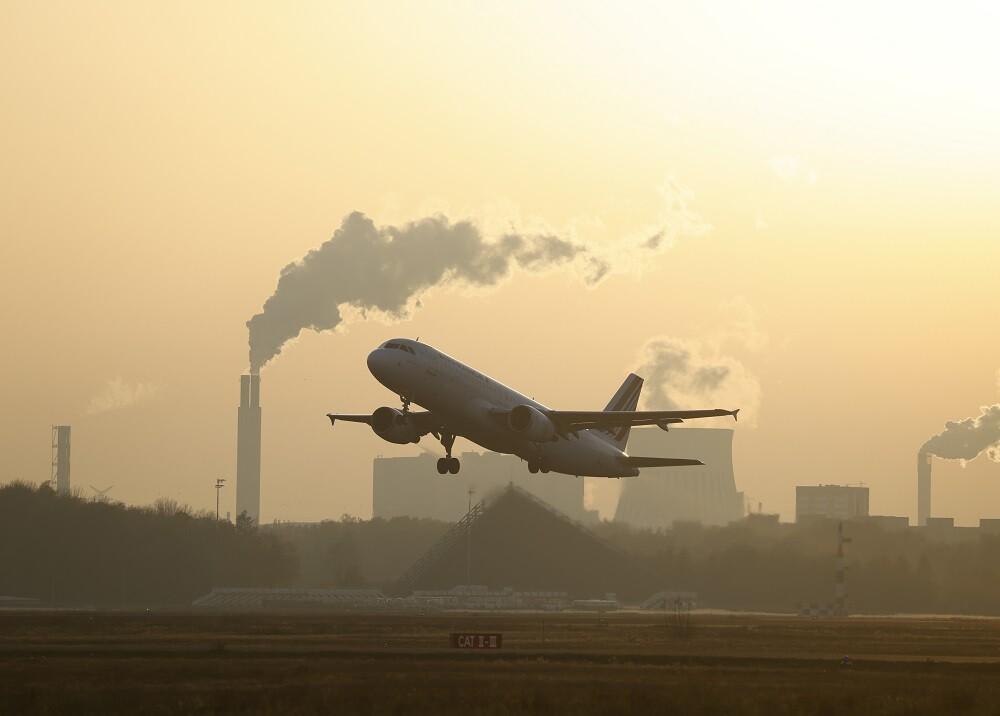 Avión / Foto / AFP