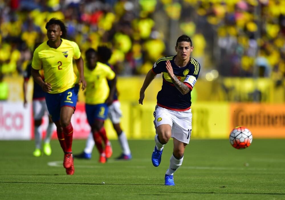 James Rodríguez Seleccion Colombia vs Ecuador