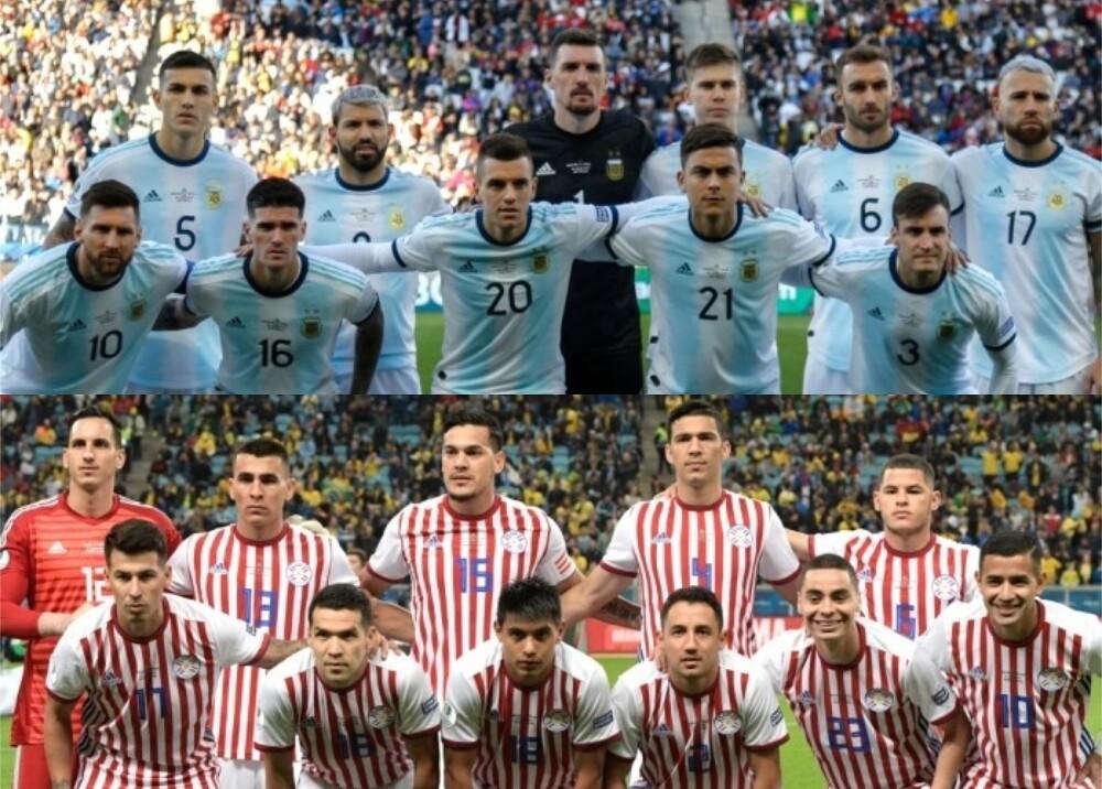 Selección Argentina Paraguay Fotos AFP