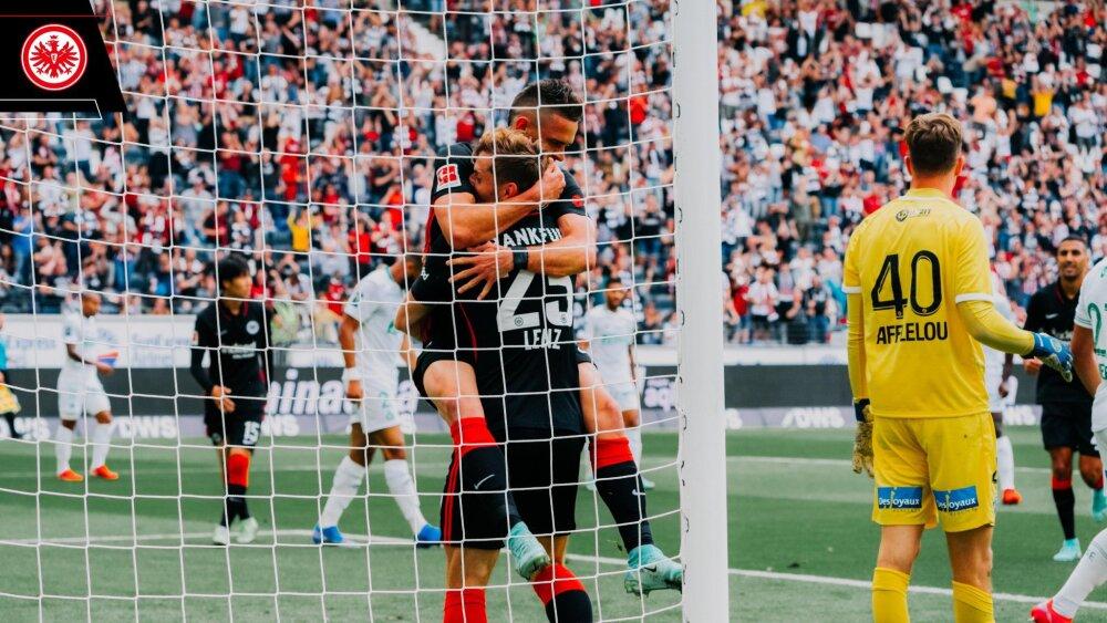 Rafael Santos Borré, jugador de Eintracht Frankfurt. @eintracht_esp.jpg