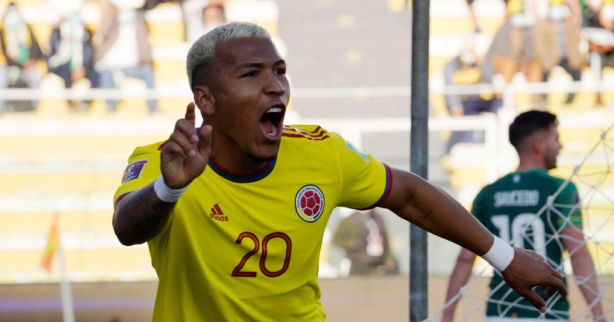 Vea el gol de Roger Martínez hoy, Bolivia vs Colombia, por Eliminatorias Sudamericanas