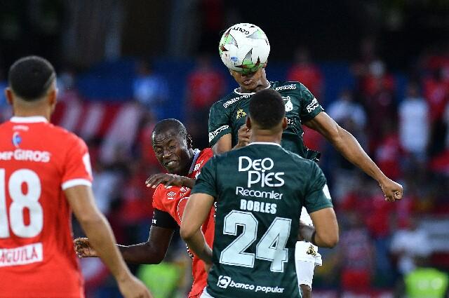 América de Cali contra Deportivo Cali, en Copa Colombia