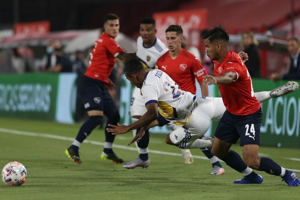 Sebastián Villa Boca Juniors Independiente 290321 Getty Images E.jpg