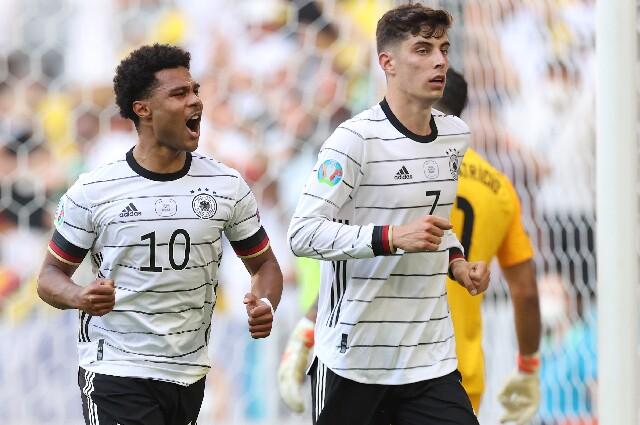 Gol de Kai Havertz, en Portugal vs Alemania