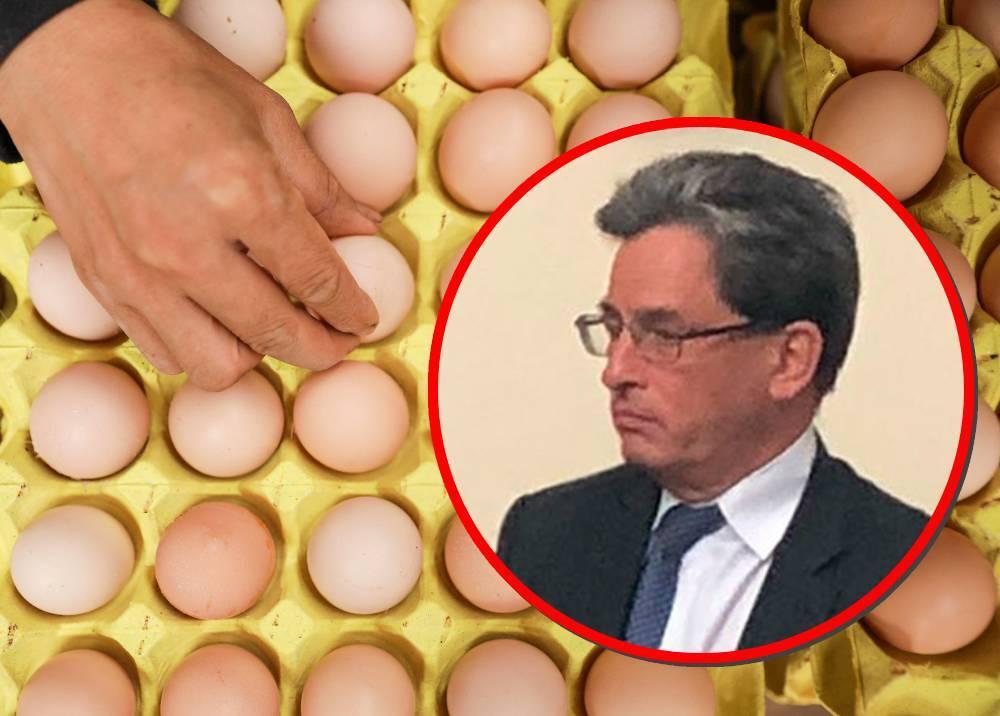 Huevos a $1.800