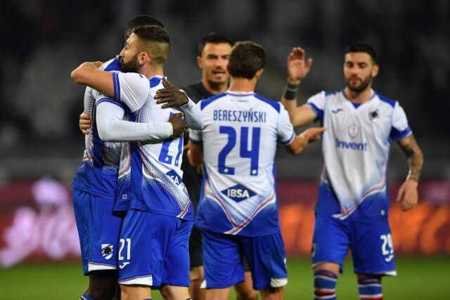 335331_Jugadores de la Sampdoria se recuperaron del coronavirus.