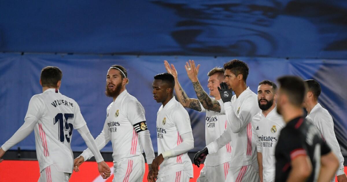 Real Madrid logró cinco triunfos al hilo y todo gracias a sus 'intocables'