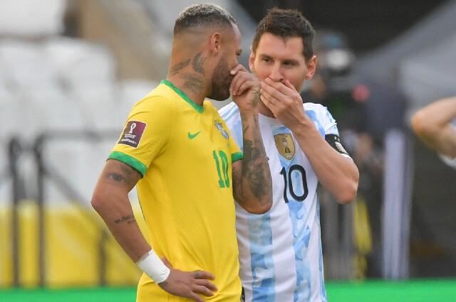 Neymar y Messi, previo al escándalo