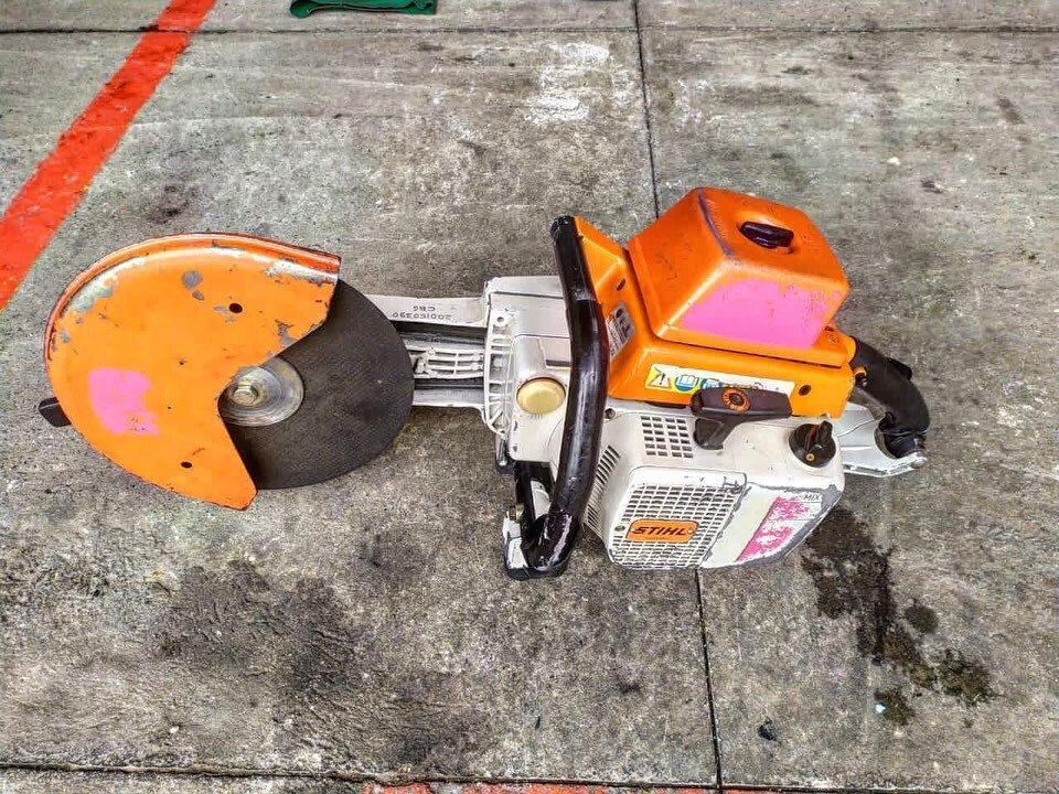 elementos que robaron a bomberos en Medellín