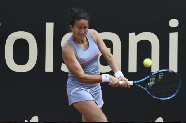 Lara Arruabarrena está entre las ocho mejores del WTA 250 de Bogotá.