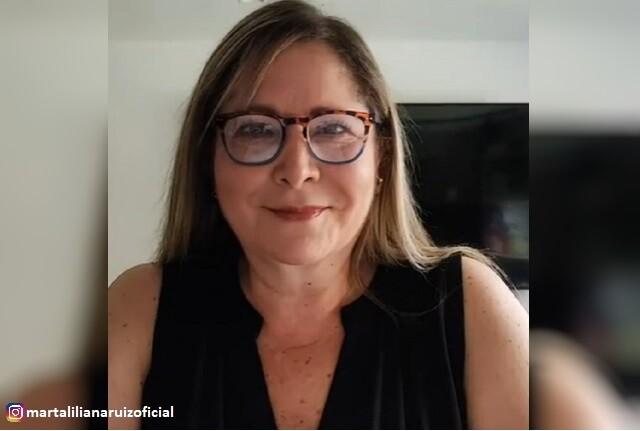 Marta Liliana Ruiz tiene cáncer.