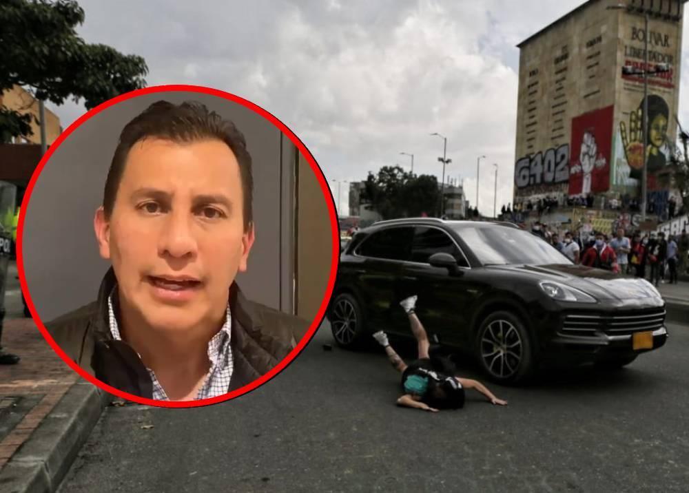 Henry Cárdenas - Manifestante arrollada en Los Héroes