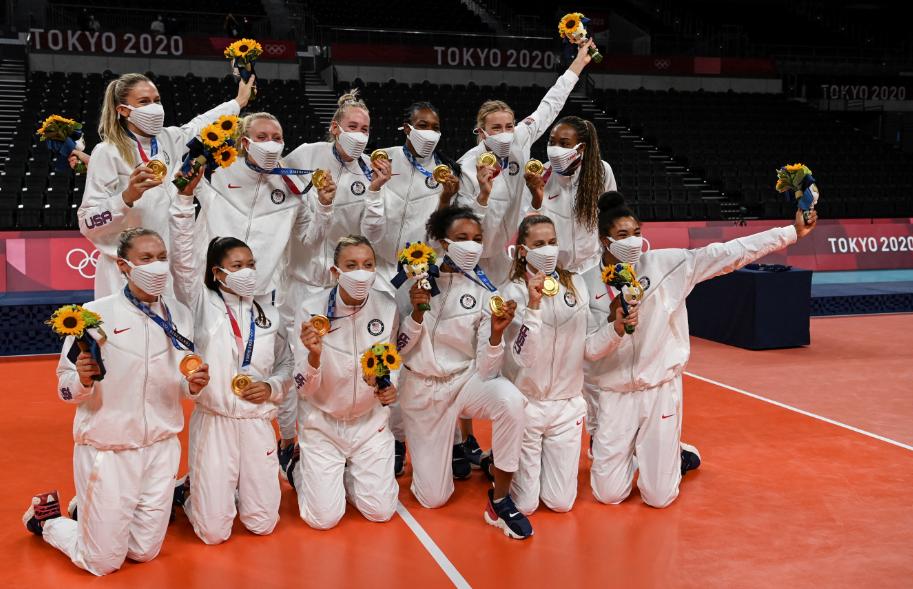 Estados Unidos quedó en la cima de la tabla de medallas de los Juegos Olímpicos Tokio 2020.