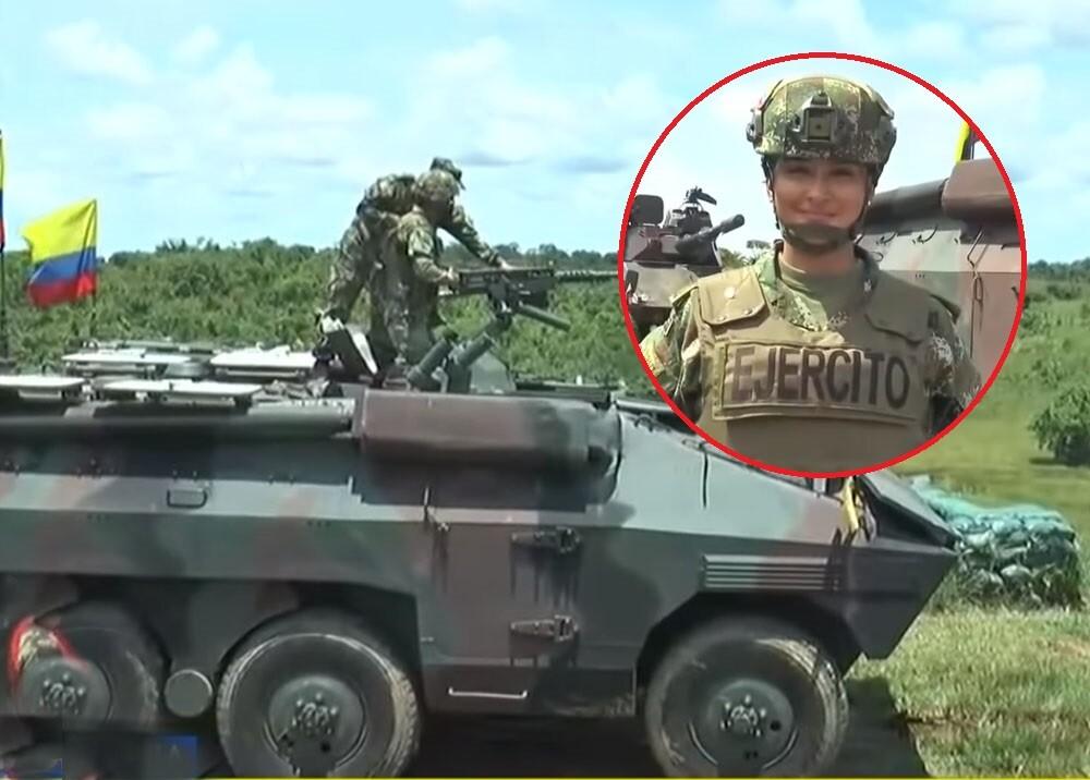 subteniente michelle arce comandante de unidad armada del Ejército.jpg