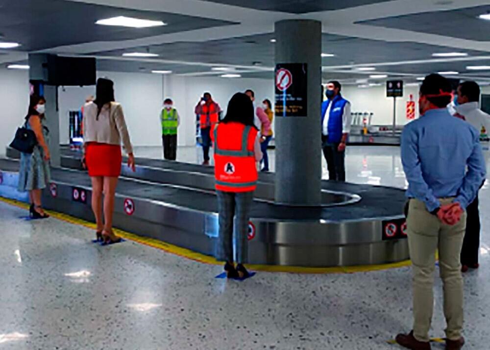 370371_Reactivación de las operaciones aéras en Colombia // Foto: Presidencia, imagen de referencia