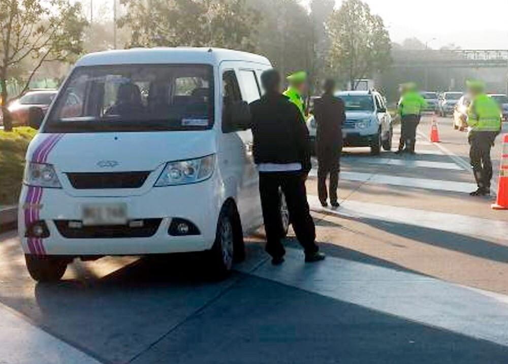 372872_Operativos contra el transporte ilegal // Foto: Policía de Tránsito