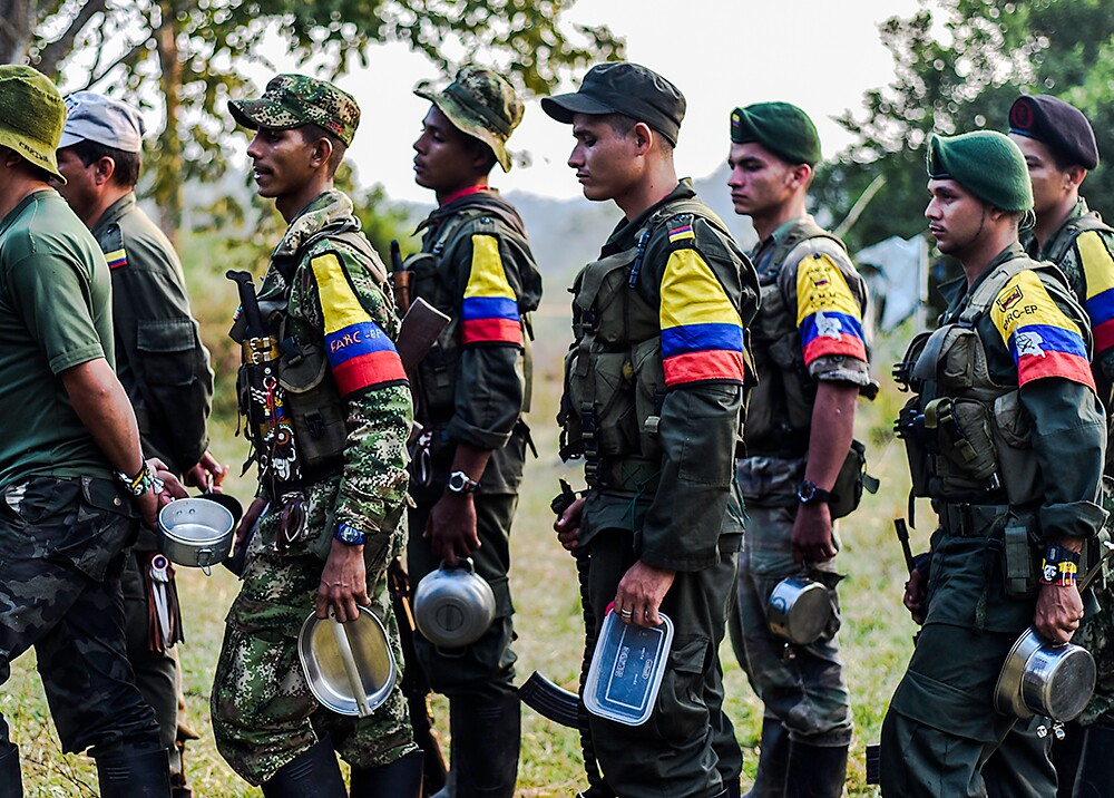 212271_BLU Radio Miembros de Farc / Foto de referencia: AFP