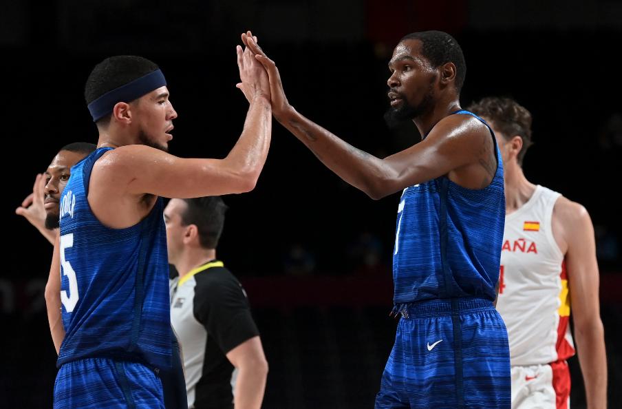 Estados Unidos clasificó a las semifinales del baloncesto de los Juegos Olímpicos Tokio 2020.