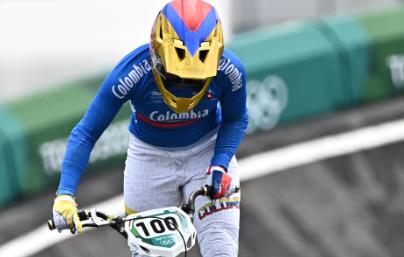 Mariana Pajón clasificó a la final de los Juegos Olímpicos Tokio 2020.