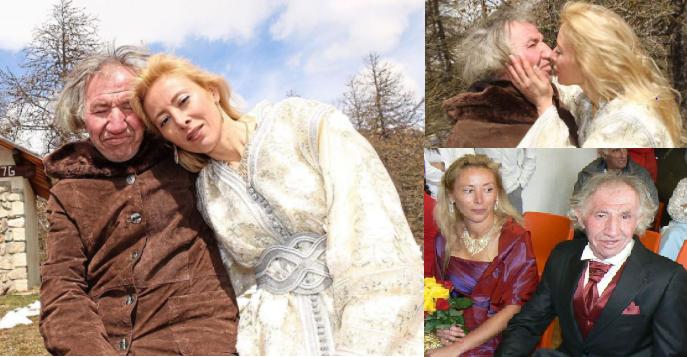 Sandrine Devillard y Marcel Amphoux