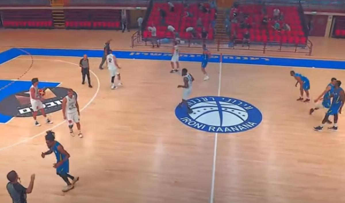 Susto de jugadores de baloncesto israelíes cuando escucharon una alarma antimisiles