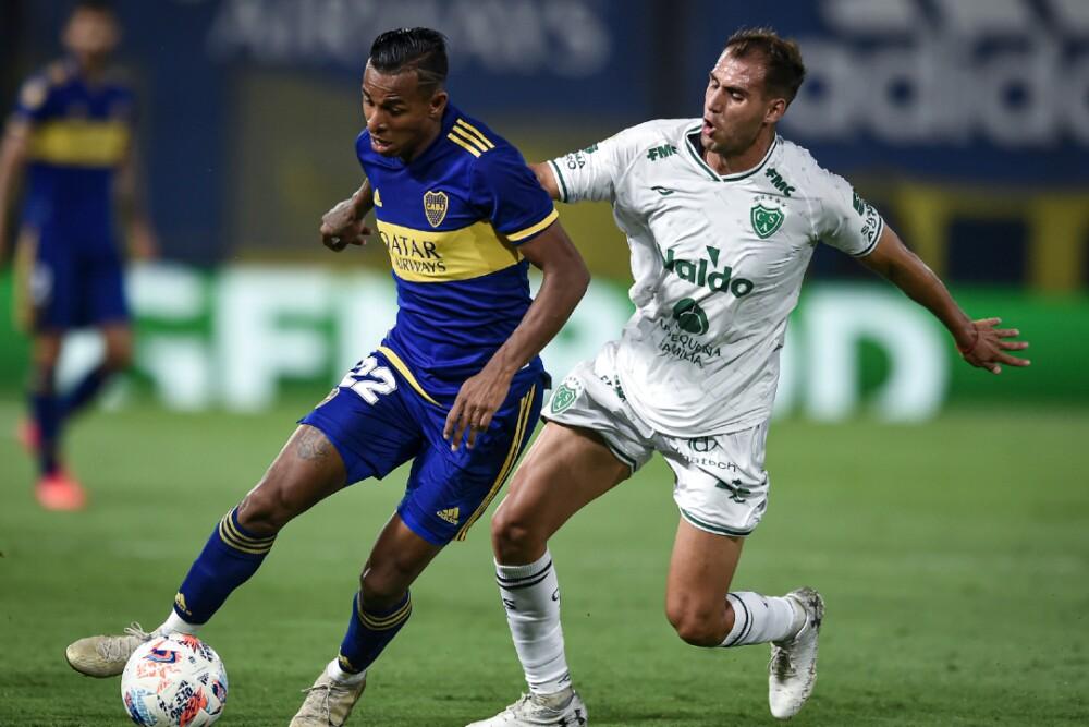 Sebastian Villa Boca Juniors Sarmiento 280221 Getty Images E.jpg
