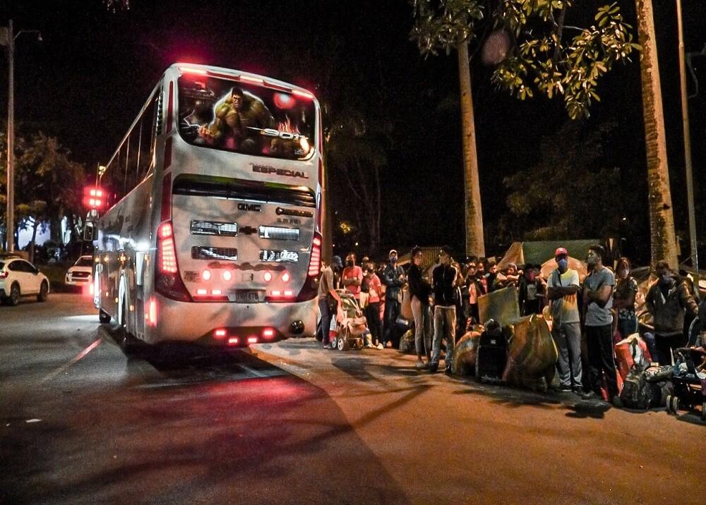 371748_BLU Radio: Traslado Migrantes Bucaramanga / Foto: Alcaldía de Bucaramanga