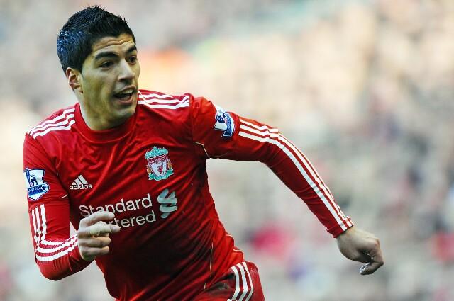 Luis Suárez en su paso por el Liverpool