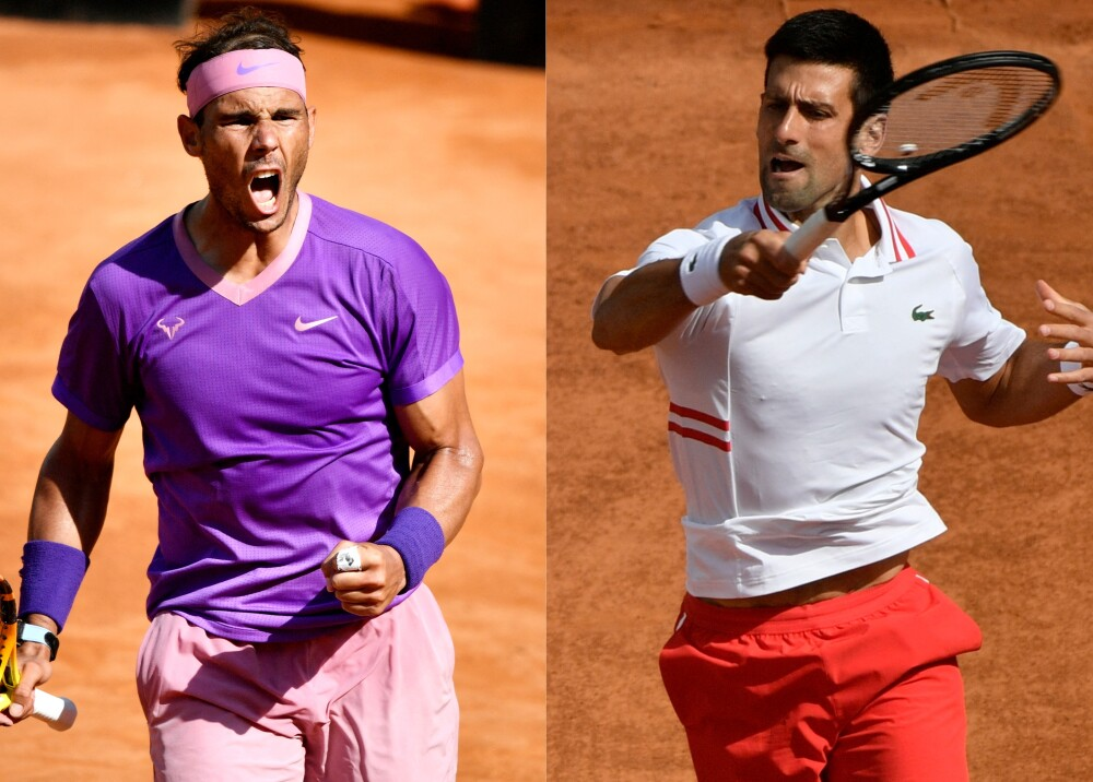 Nadal y Djokovic Foto AFP.jpg