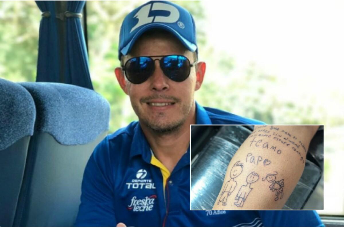 Luis Delgado Y Un Emotivo Tatuaje Que Conmueve Las Redes Sociales
