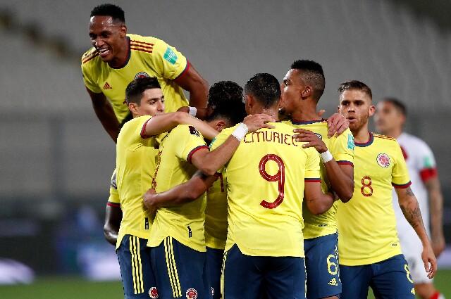 Debut de Colombia contra Ecuador, en Copa América