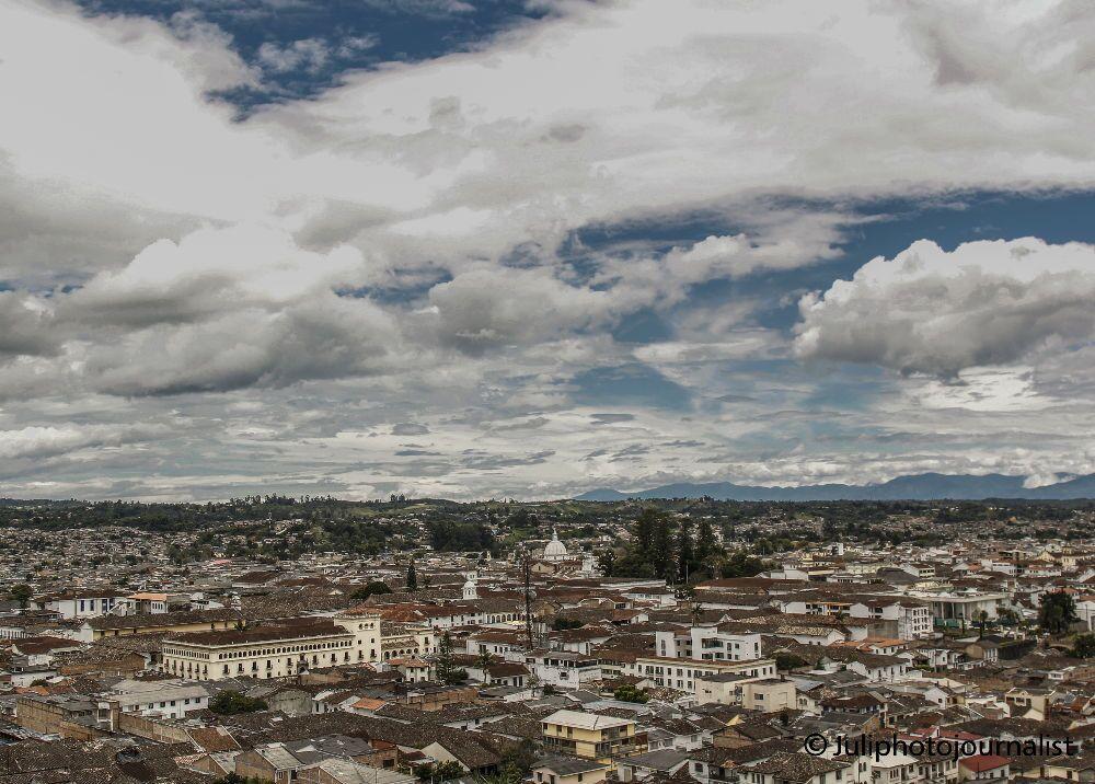 Panorámica de Popayán