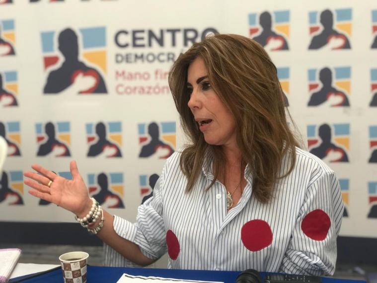 369509_Nubia Martínez, directora del Centro Democrático. Foto: Prensa Centro Democrático