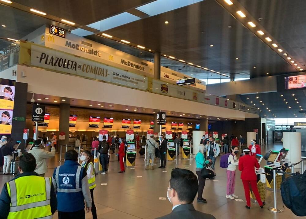 Aeropuerto El Dorado en pandemia