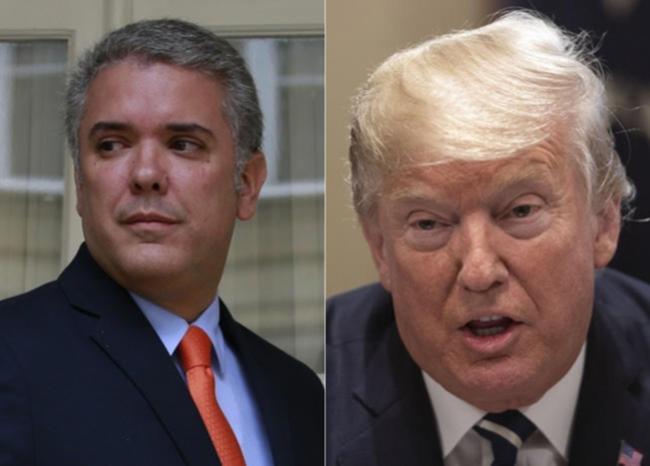 326906_BLU Radio. Ivan Duque-Donald Trump / Foto: AFP