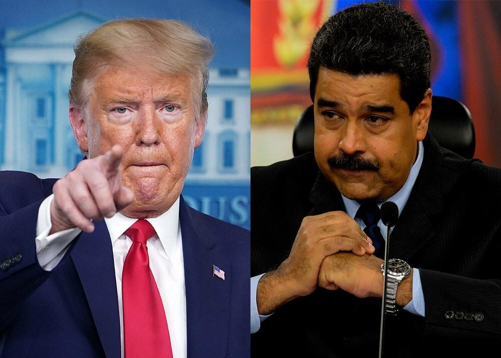 359389_Donald Trump y Nicolás Maduro / Fotos: AFP