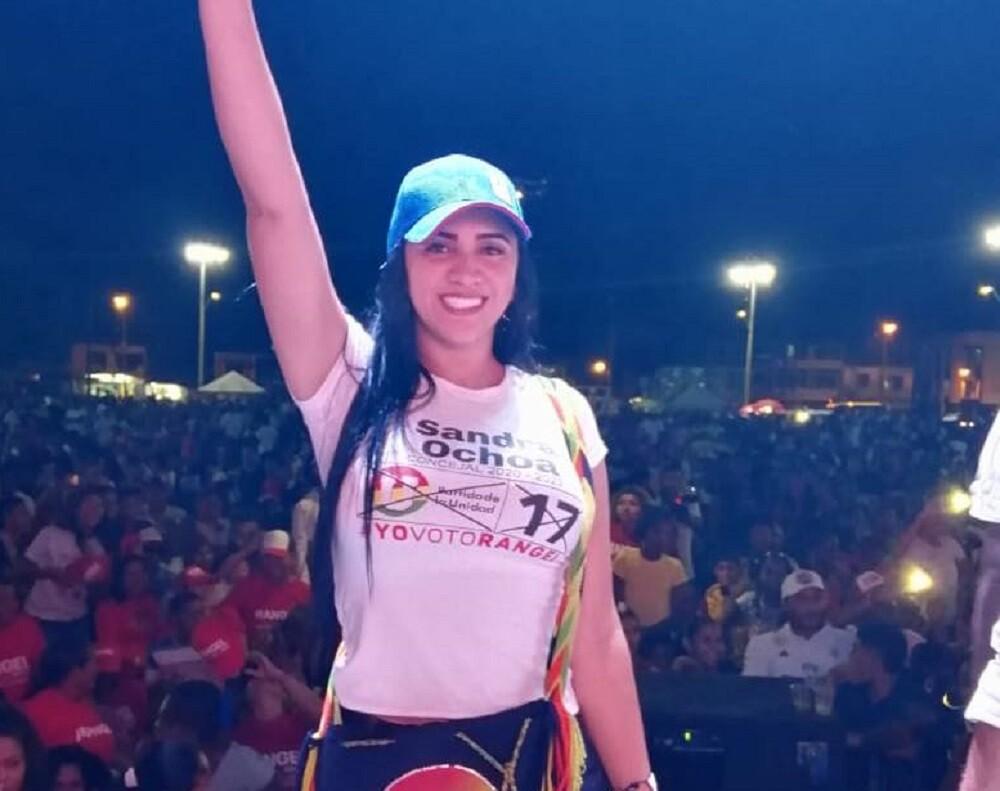 346695_BLU Radio. Sandra Ochoa, candidata al Concejo de Apartadó / Foto: Facebook