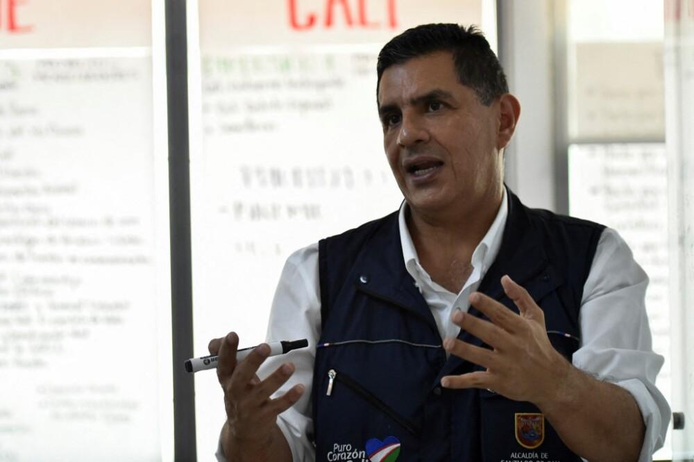 Jorge Iván Ospina alcalde de Cali