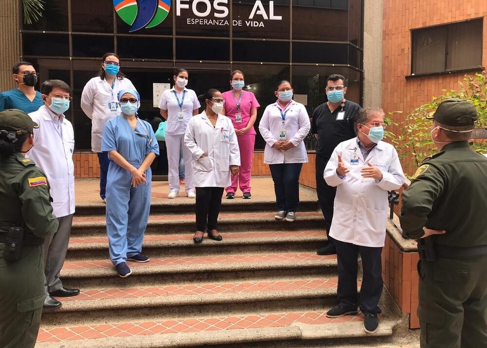 366992_BLU Radio. Médicos Foscal / Foto:BLU Radio