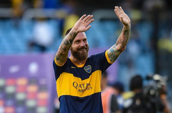 De Rossi, exjugador de Boca Juniors