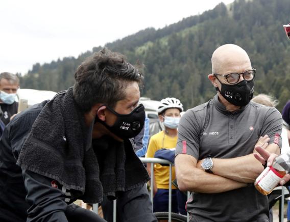Dave Brailsford elogió a Egan Bernal tras la etapa 11 del Giro de Italia 2021.