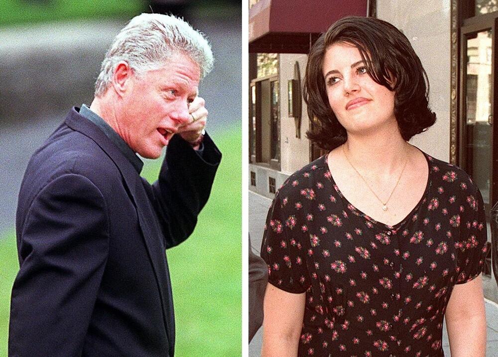 340534_Clinton y Lewinsky - Foto: AFP