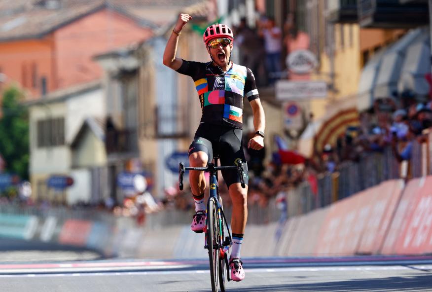 Alberto Bettiol fue el ganador de la etapa 18 del Giro de Italia 2021.
