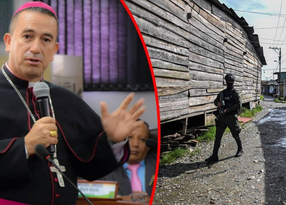 Monseñor Rubén Darío Jaramillo - Patrullajes en Buenaventura