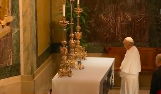 video viral papa Francisco